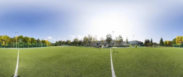 exteriér -  futbalové ihrisko